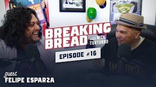 FELIPE ESPARZA IS PART ITALIAN! HE GOT TO MEET REGGIE JACKSON! Breaking Bread w/ Nick Turturro #16