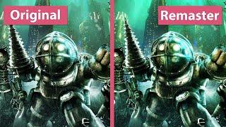 BioShock – PC Original vs. The Collection Remaster HQ Trailer Graphics Comparison