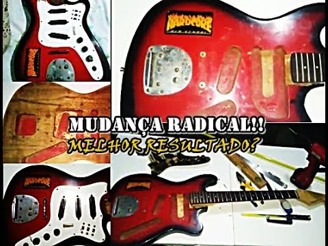 Guitarra Tonante Finder Reformada