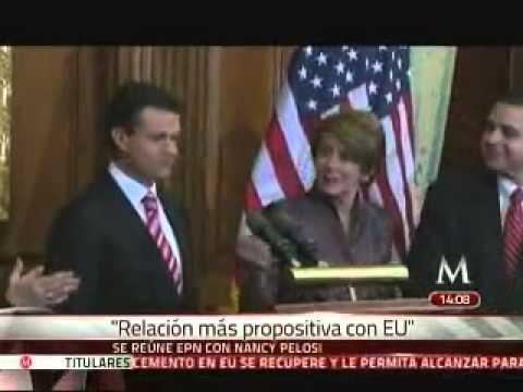Se reúne Peña con Janet Napolitano