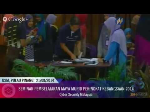 LIVE: Seminar Pembelajaran Maya: Cyber Security Malaysia