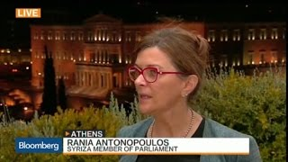 Greece Is Committed to Staying in Euro Zone: Antonopoulos