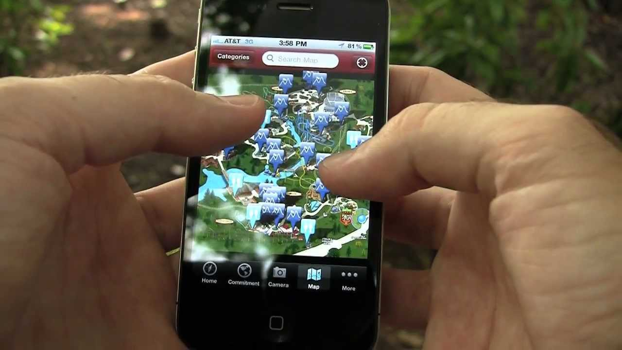 App For The Iphone Is Now Available Busch Gardens Williamsburg Va Youtube