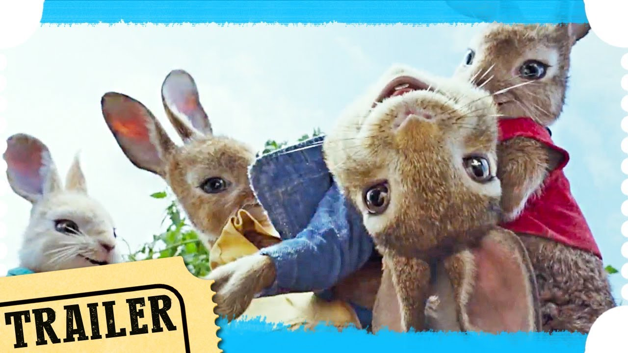 Peter Hase Offizieller Trailer Deutsch German 2018 Youtube