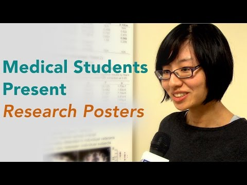 Medical Students Present Research Posters