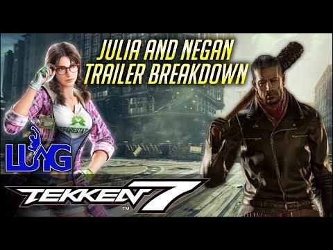 MYK Breaks Down The Julia and Negan Trailer - TEKKEN 7 SEASON 2