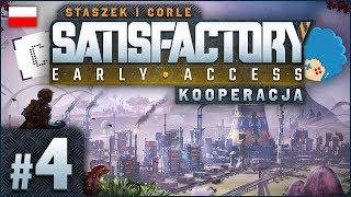 Satisfactory PL ze Staszkiem ⚙️ #4 (odc.4)  Piła, farby i inne zabawki | Gameplay po polsku