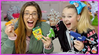 Hot Glue Gun Hacks Pt. 2 W/ JoJo!