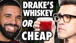 Celebrity Alcohol vs Cheap Alcohol Taste Test