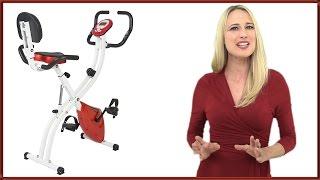 Best Choice Products Folding Adjustable Upright Exercise Bike