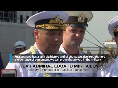 Russian Navy ships in Manila on goodwill visit