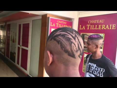 Dessin Coiffure Homme Tribal