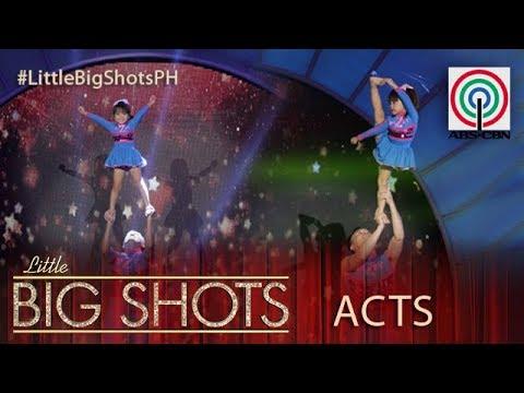 Little Big Shots Philippines: Zianne   4-year-old Little Cheerleader