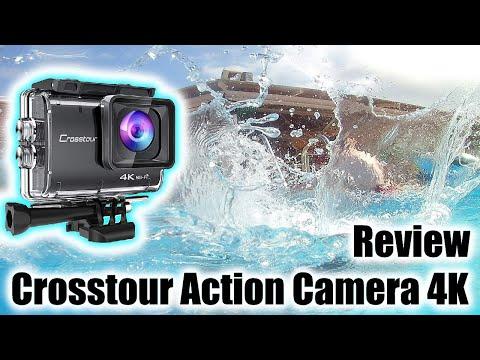 Crosstour Action Camera 4K Review | Underwater | Specs | Accessories | vs GoPro