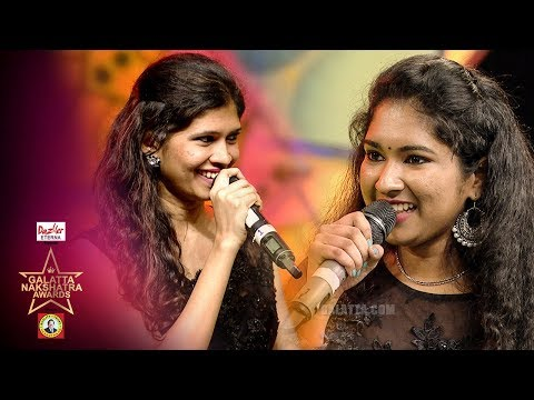 Sabash Sariyanai Potti   Zee Tamil Sa Re Ga Ma Pa Varsha vs Srinidhi   Galatta Nakshatra Awards