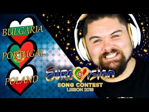 Reviewing Eurovision 2018 (Part 12). BULGARIA, PORTUGAL & POLAND.