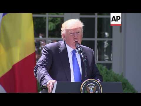 Trump Thanks Romania For NATO Spending