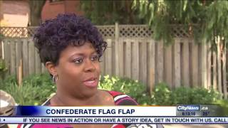Woman outraged after spotting confederate flag at Scarborough community festival