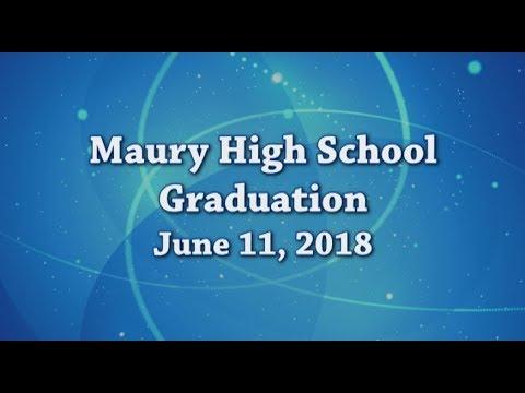 Maury High School Graduation 2018