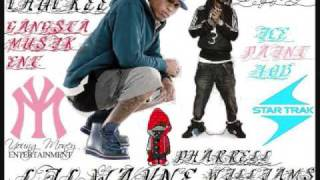 Download Lil Chuckee & Lil Wayne Feat. Pharrell Ice Cream Paint Job MP3 song and Music Video