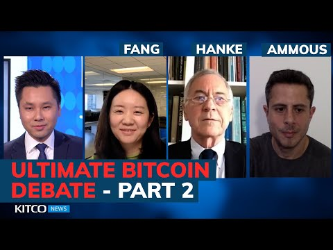 Is Bitcoin The Next Global Currency? The Debate Continues: Ammous, Hanke, Fang (Pt. 2/2)