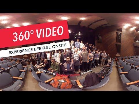 360° Experience Berklee Onsite | Berklee Online | VR