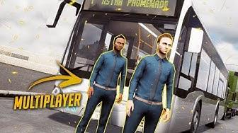 Bus Simulator 18 🚍 Drei Busfahrer im Multiplayer (Multiplayer)