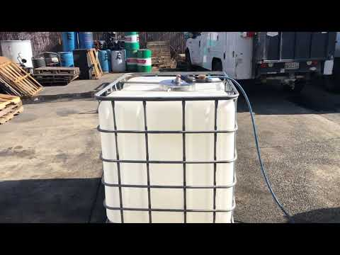 AaquaTools LTRW Tote / IBC Cleaner and Tank Cleaning Tool