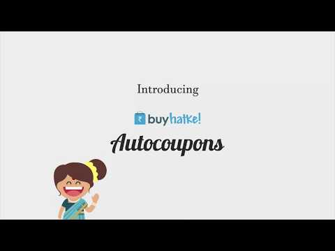 How to Apply Coupon/Deal Automatically using Buyhatke Extension