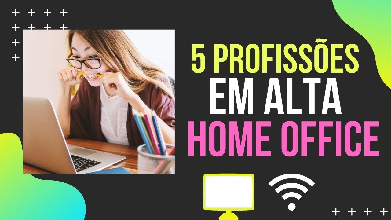 profissões com home office