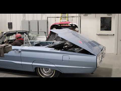 1964 Ford Thunderbird Convertible Top Operation