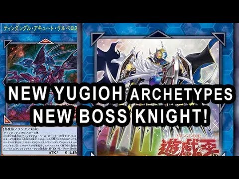 NEW YUGIOH ARCHETYPES NEW BOSS KNIGHT! Jack Knight 12 YEARS LATER!  NEW TINDANGLES!