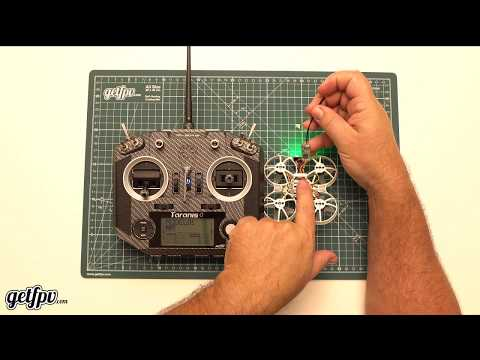 How To Bind And Set Up BetaFlight On A BETA75X. (FrSky Setup)