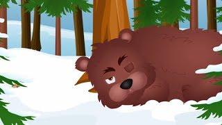 Stary niedźwiedź mocno śpi - piosenka dla dzieci
