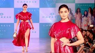 Gorgeous Alia Bhatt Walks The Ramp For Caprese Bags