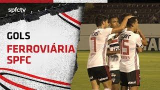 GOLS: FERROVIÁRIA 1x2 SÃO PAULO   SPFCTV