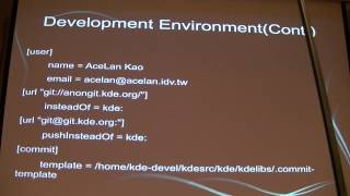 Getting Involved in KDE Development - Acelan Kao (高嘉璘) - COSCUP 2012