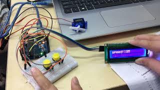 Making a car speed-o-meter!