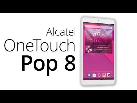 Alcatel OneTouch Pop 8 (recenze)