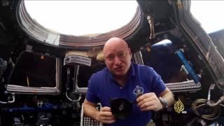 رائد فضاء أميركي يبقى عاما كاملا خارج كوكب الأرض