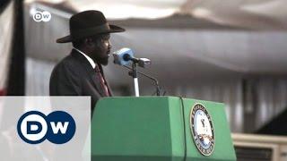 رئيس جنوب السودان يوقع اتفاقية السلام | الأخبار