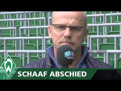 """Schaaf-Abschied: """"Eine außergewöhnliche Zeit!"""" I Werder Bremen"""