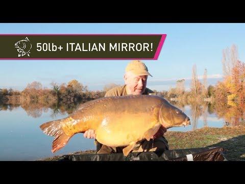50LB+ Italian Carp! Carp fishing with Steve Briggs