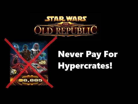 SWTOR: Why You Should Never Pay For Hypercrates With Cartel Coins!