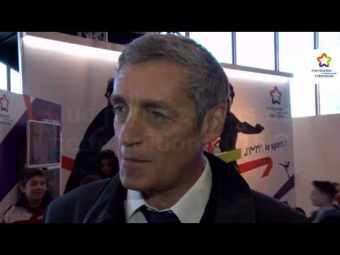 Open Sud de France Interview de Philippe Saurel