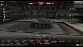 World of tanks análisis: Pz.Kpfw. V Panther Tanque medio alemán Tier 7: Francotirador!