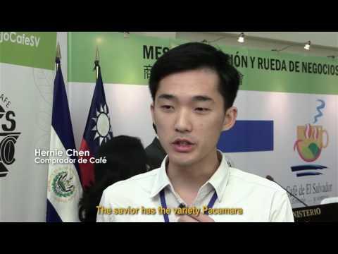 Café de El Salvador - Delegación Taiwan 2017