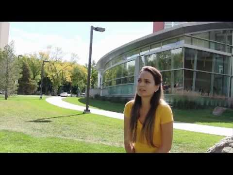 University of Alberta students: Renata from Brazil talks about studying in Canada
