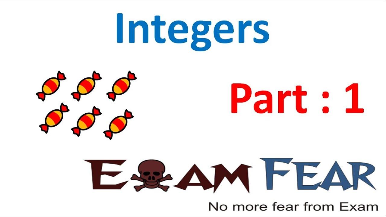 Maths Integers part 1 (Introduction) CBSE Class 7 Mathematics VII