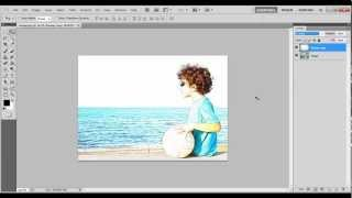 How to create a Color Ink Sketch Effect in Photoshop